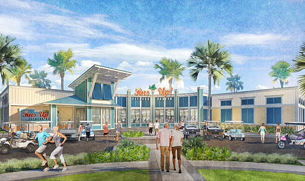 At Margaritaville emphasis is on diverse activities—from guitar lessons to mixology classes
