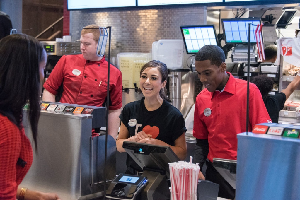 Chick-fil-A is known for strong customer service and low turnover,