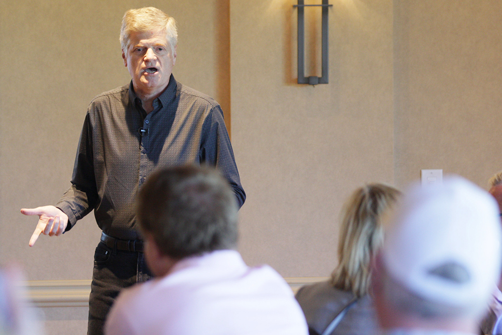 Dan Hutson HumanGood speaking at Senior Living Innovation Forum