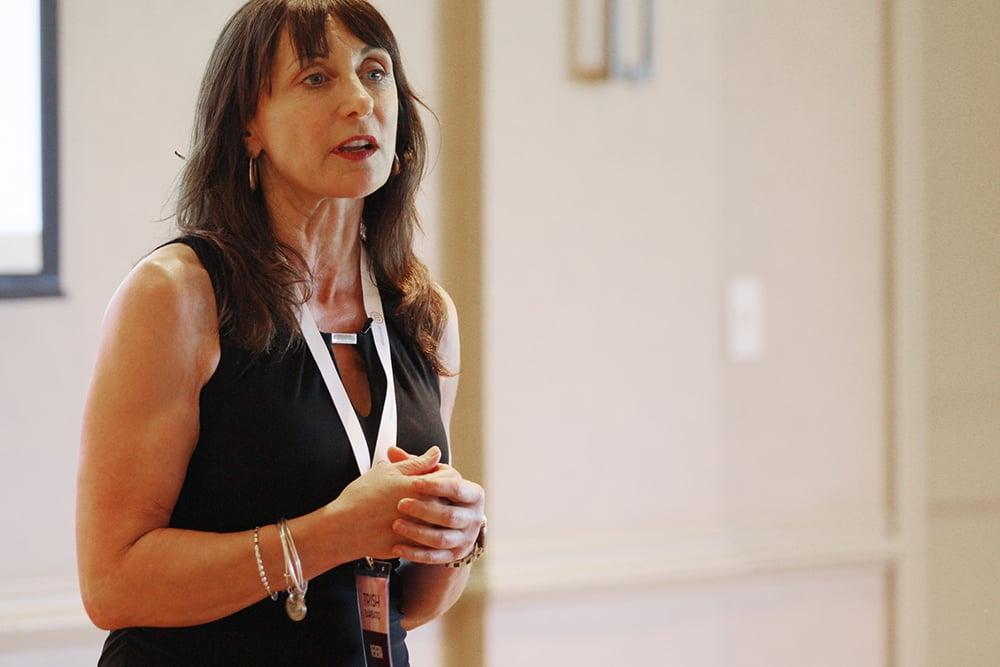 Trish Barbato Revera talking at Senior Living Innovation Forum
